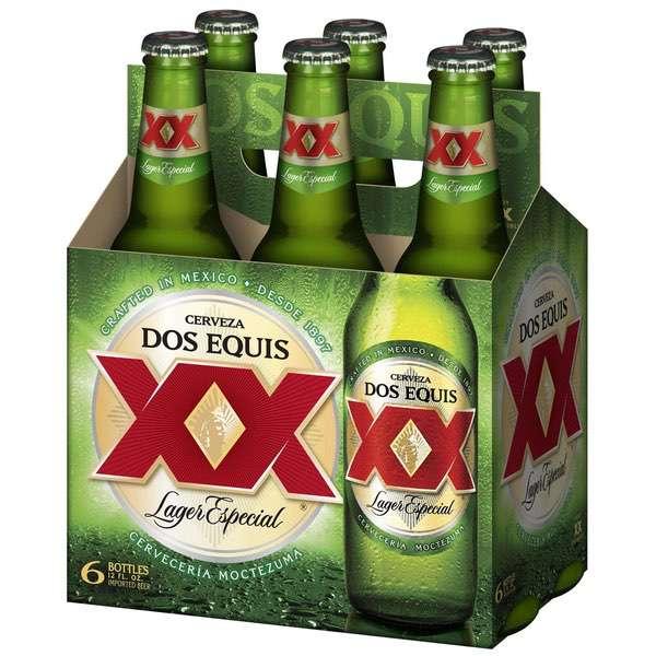 Catalog Beverages Beers Dos Equis Lager Especial 6 Pack 12 Fl Oz Bottles